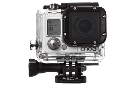 Able Video Gopro Hero 3 Video Camera Equipment Hire Gold Coast