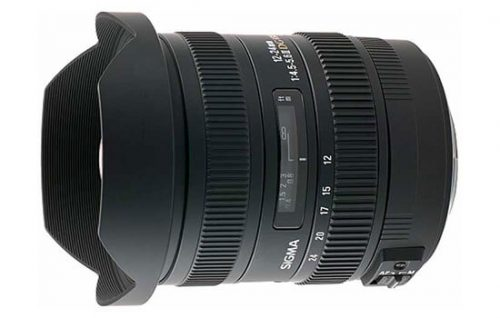 Able Video Sigma 12-24 Lens Equipment Hire Gold Coast