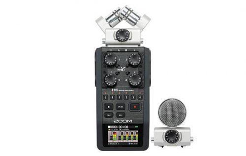 Able Video Zoom H6 Audio Recorder Equipment Hire Gold Coast