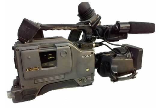 Able Video Sony DSR300P Video Camera Equipment Hire Gold Coast