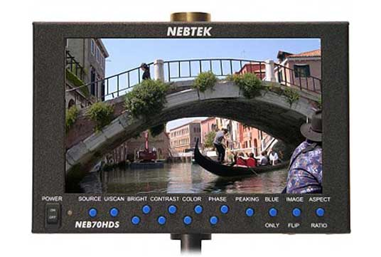 Able Video Nebtek Monitor Equipment Hire Gold Coast